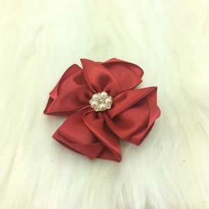 Other - Handmade Red Hair clip